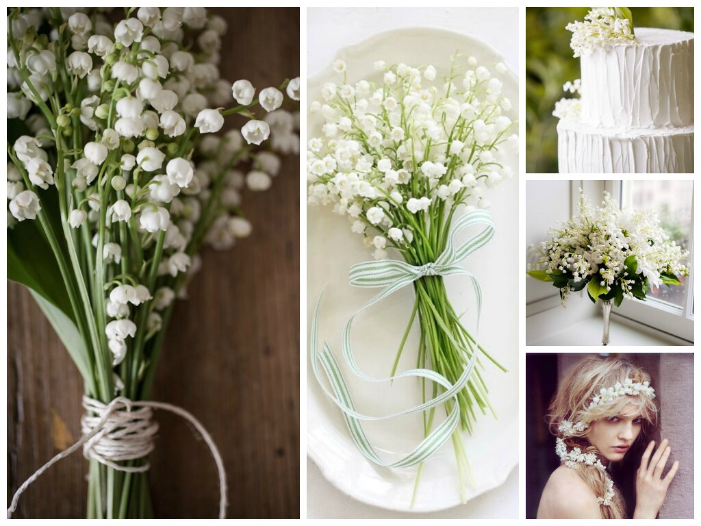 Lily Of The Valley Wedding Bouquet: Spring Wedding Flowers And Bouquets