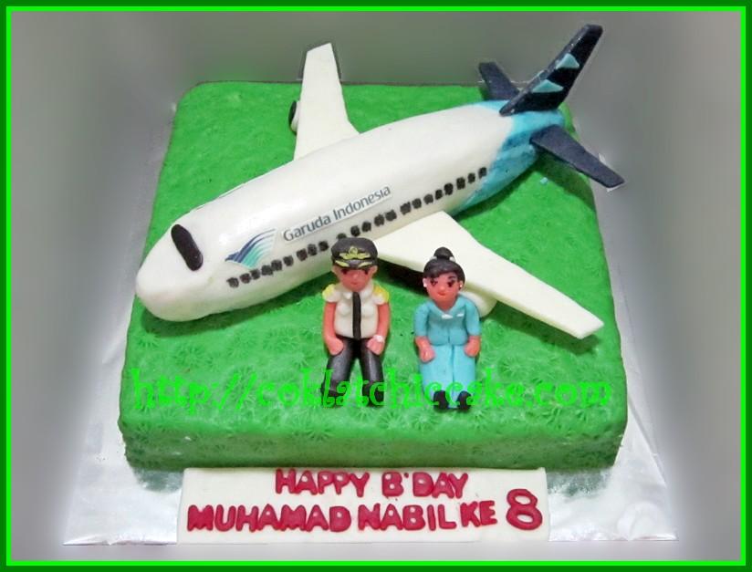 Cake Pesawat Garuda / garuda airways
