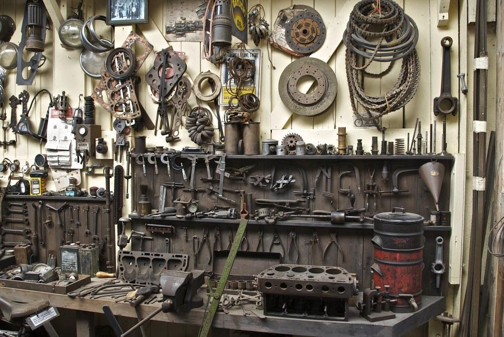 Old Garage Workshop Rural Life Center Old Garage