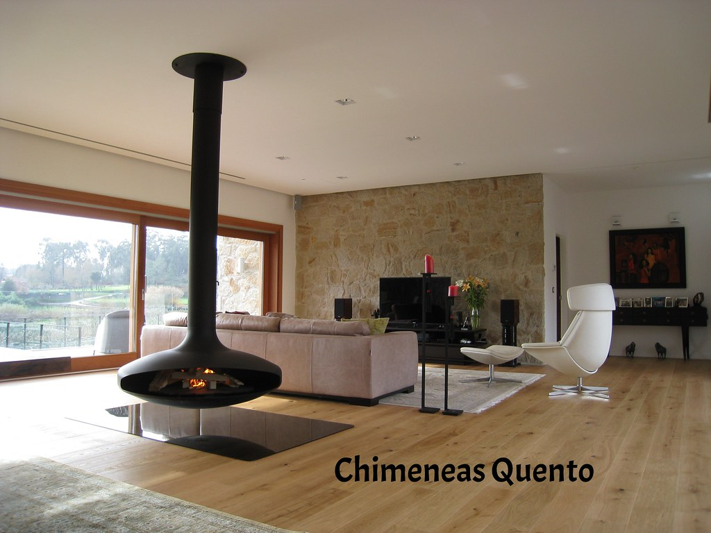 Chimenea quento gyrofocus showroom crta - Chimeneas quento ...
