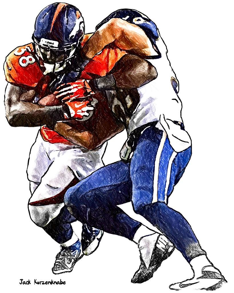 0 Denver Broncos Montee Ball St Louis Rams Jo Lonn Dunba