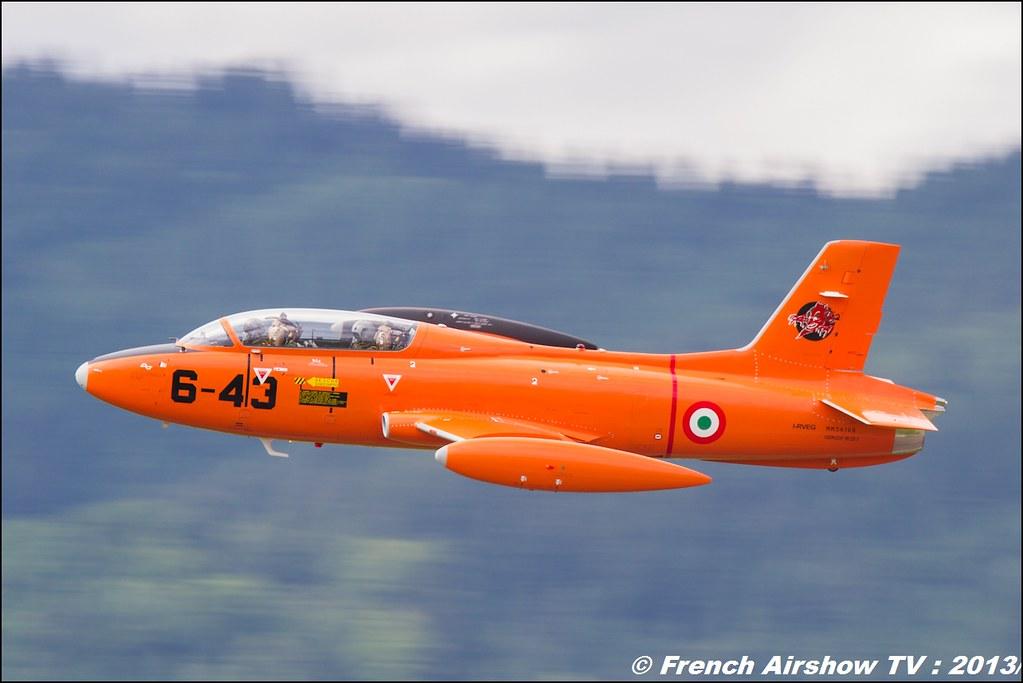 Aermacchi MB-326E I-RVEG , Private I-RVEG , Aermacchi MB-326, AIRPOWER13 , Zeltweg , Austria , airpower 2013 Zeltweg