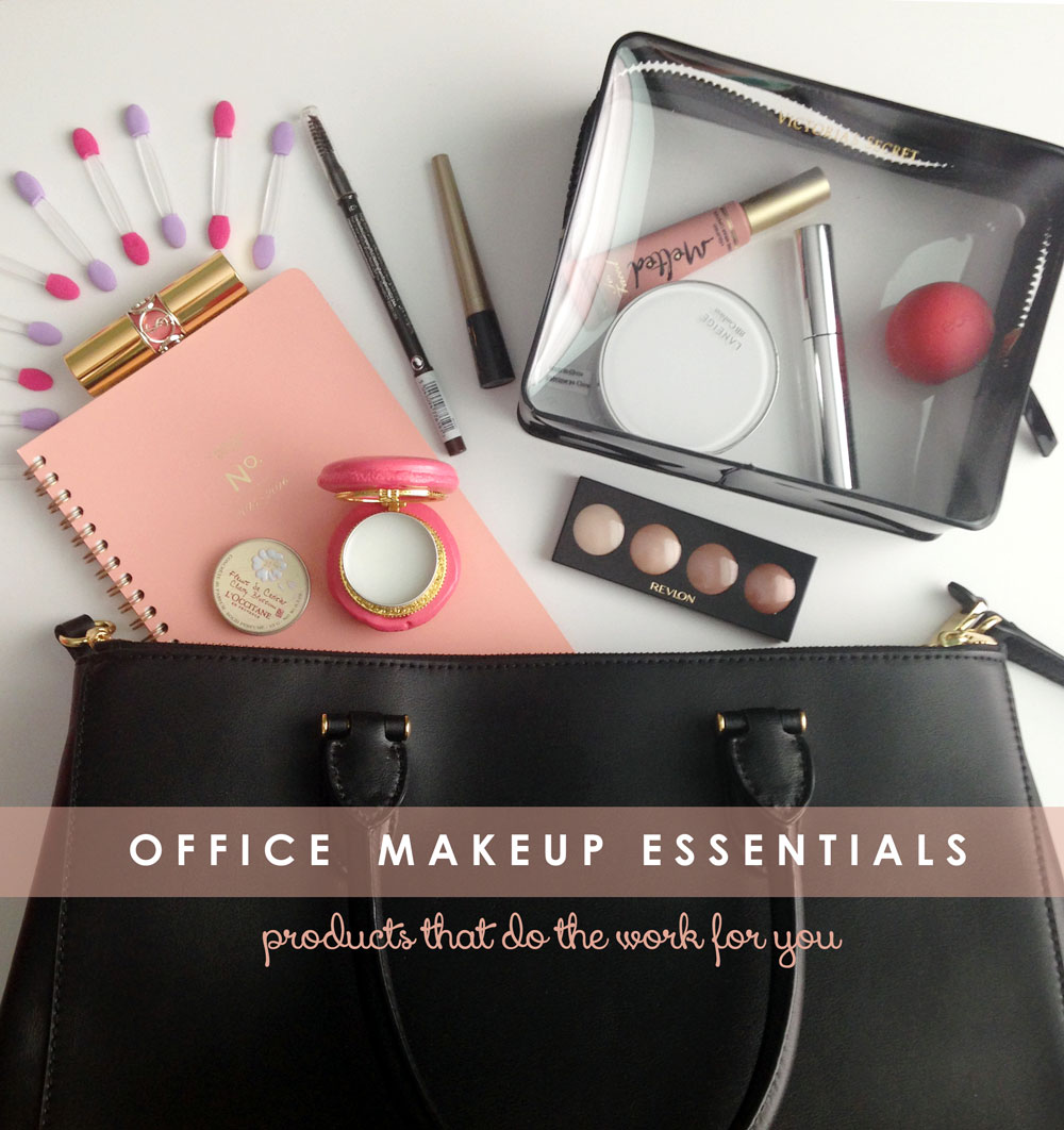 Top office makeup essentials to bring to work