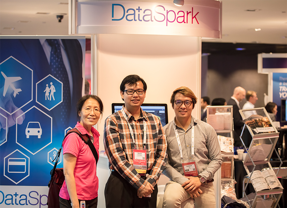 (left to right) Ms Ying Li, CTO; David Kurniawan, Product Manager; Andrew Tan, Data Science Consultant.