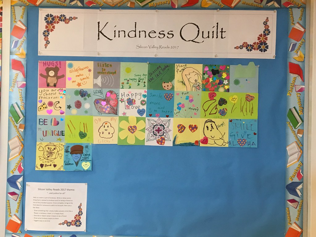 Kindness Quilt | In celebration of Silicon Valley Reads 2017… | Flickr : kindness quilt - Adamdwight.com
