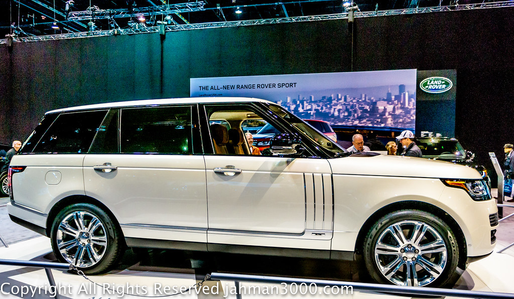 Land Rover White Paint