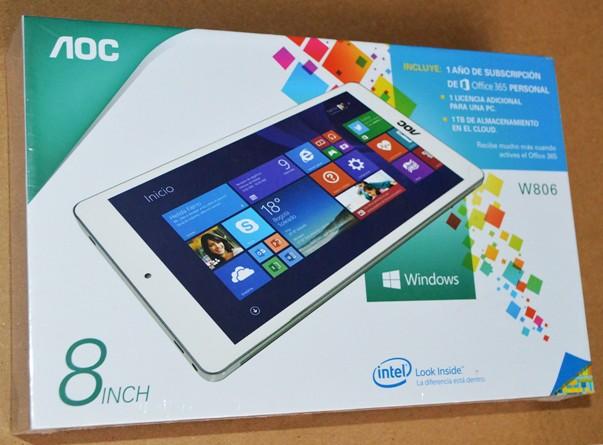 Tecnología: Tablet AOC W806