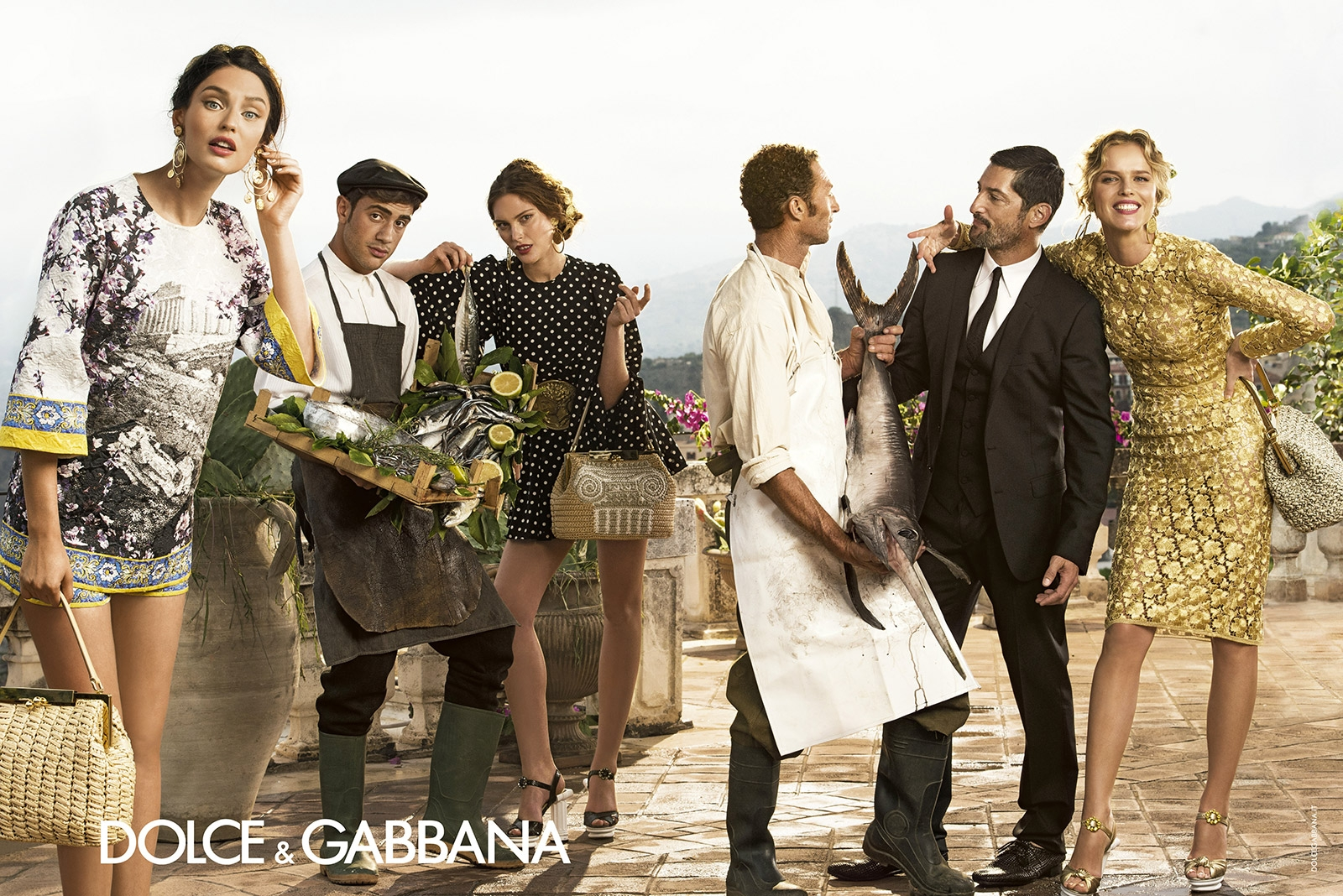 dolce and gabbana advertising campaign ss14 2014, valencia fashion blogger something fashion, womens italy fashion dG