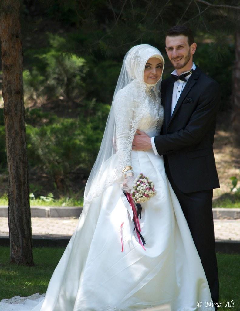Turkish Wedding in Termal, Yalova | Newly married couple hav ...