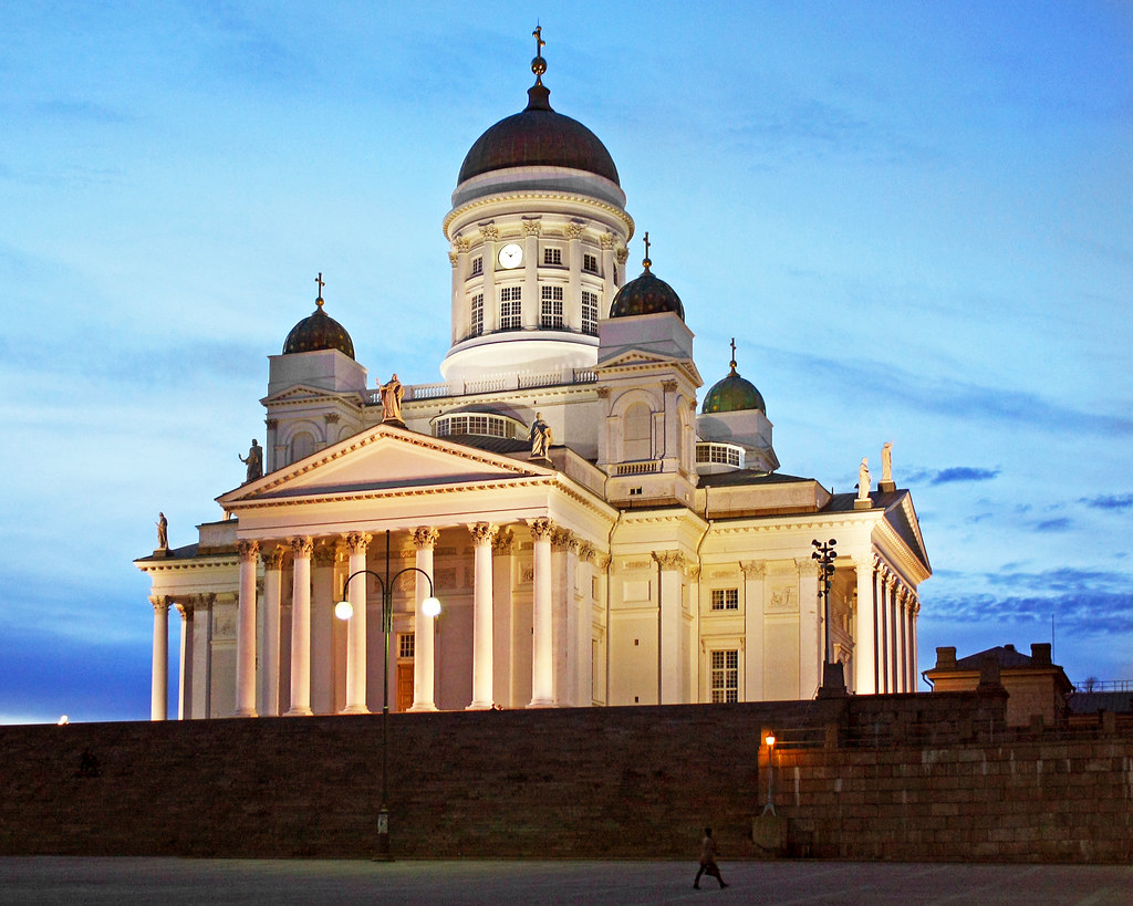Helsinki Cathedral, White Night | The cathedral was built ...