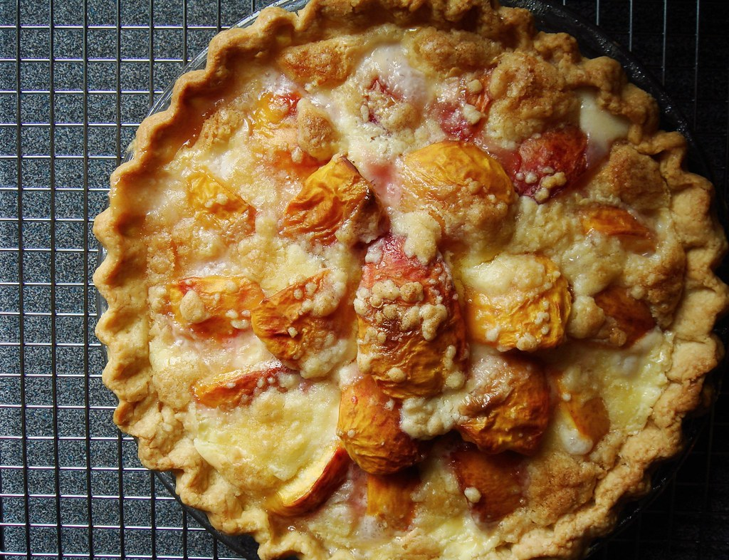 Peach & Creme Fraiche Pie | Read more at Dessert By Candy ...
