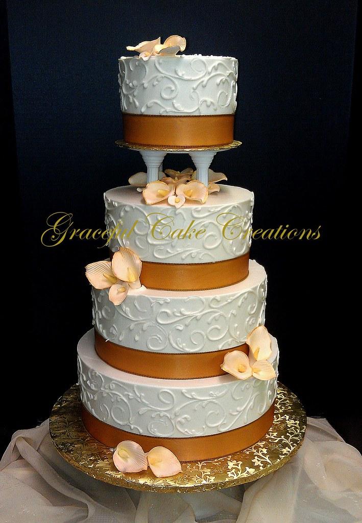 White Champagne Cake
