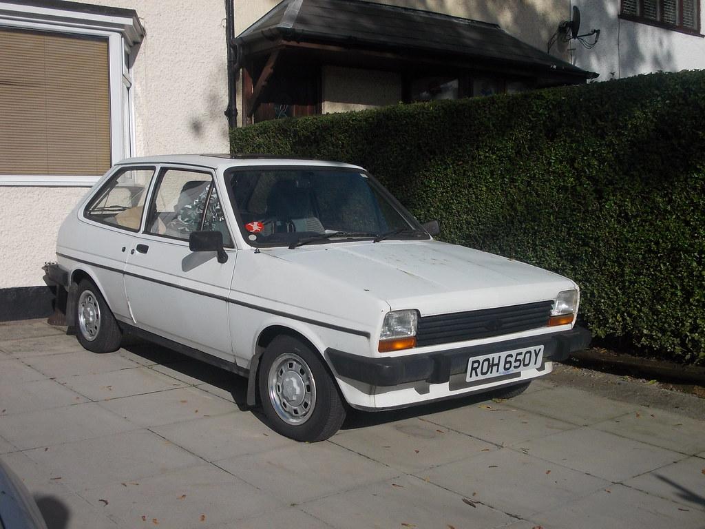 1982 Ford Fiesta GL | Heres a late Mk1 Fiesta, and you