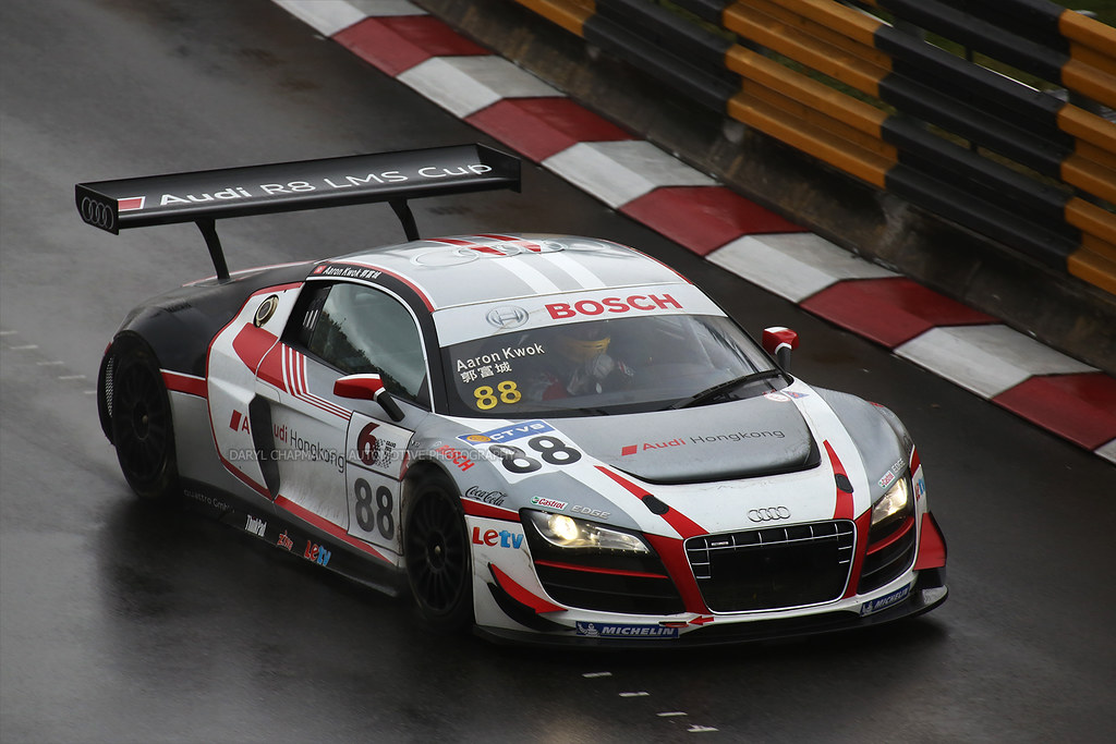 Audi R8 Lms Aaron Kwok Audi Hong Kong Team Macau C Flickr