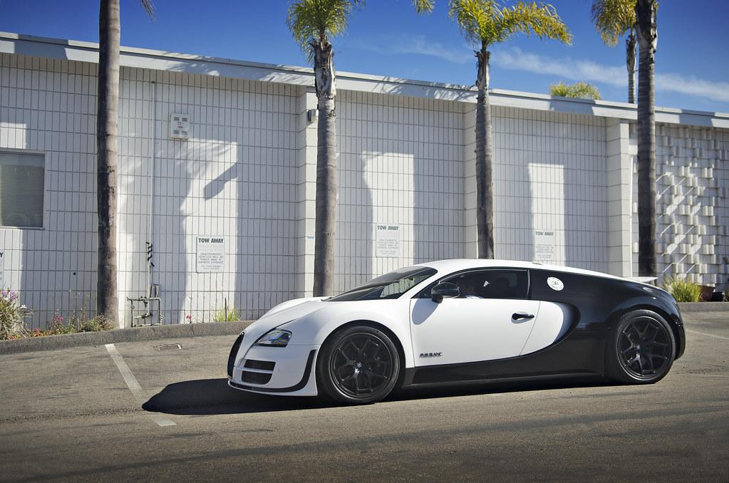 Bugatti Veyron Pur Blanc White Black Bugatti Veyron Pur