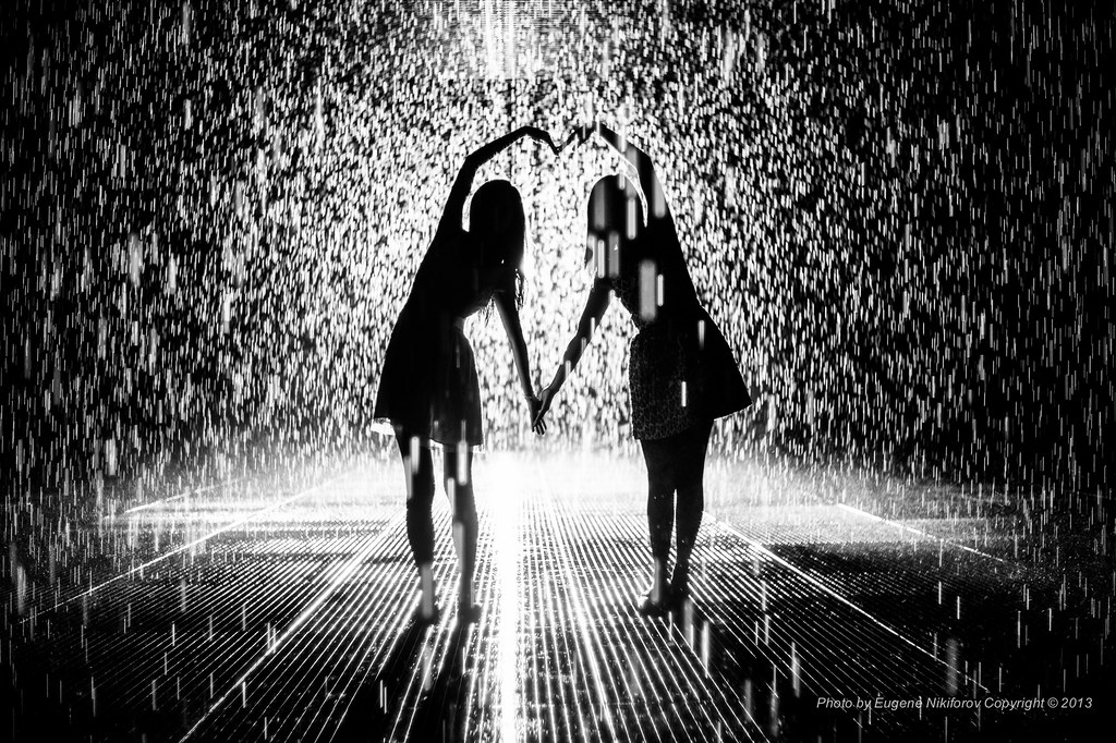 Together Rain Room Installation By Random International