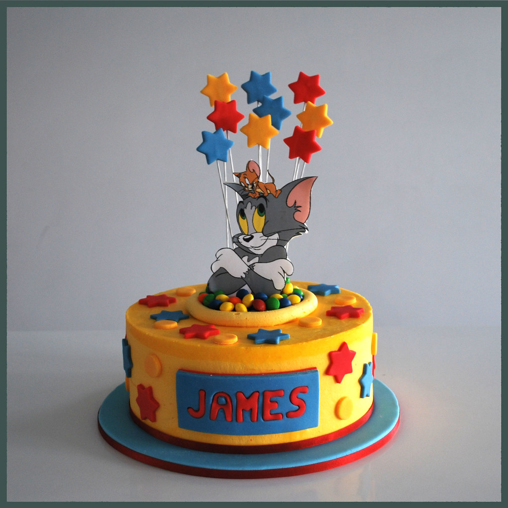 Tom And Jerry Cake Pan