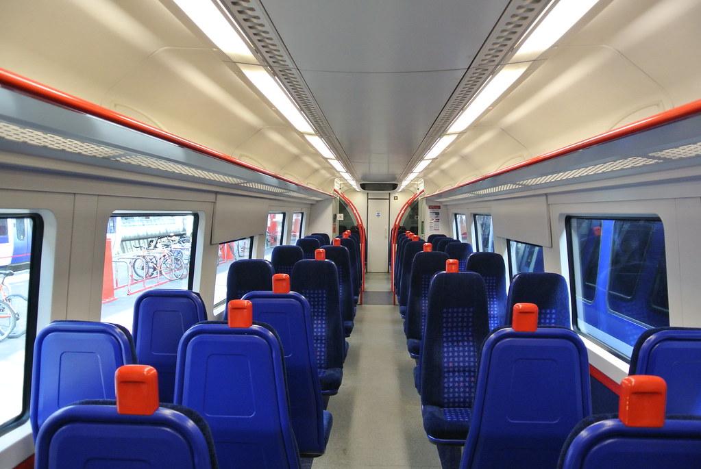 Chiltern Class 172 101 Interior   The Interior of the rare ...