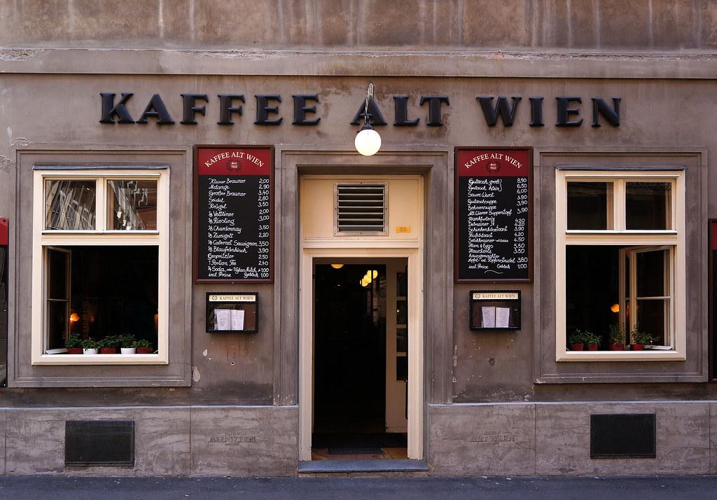kaffee alt wien coffee shop vienna austria pixelchecker flickr. Black Bedroom Furniture Sets. Home Design Ideas