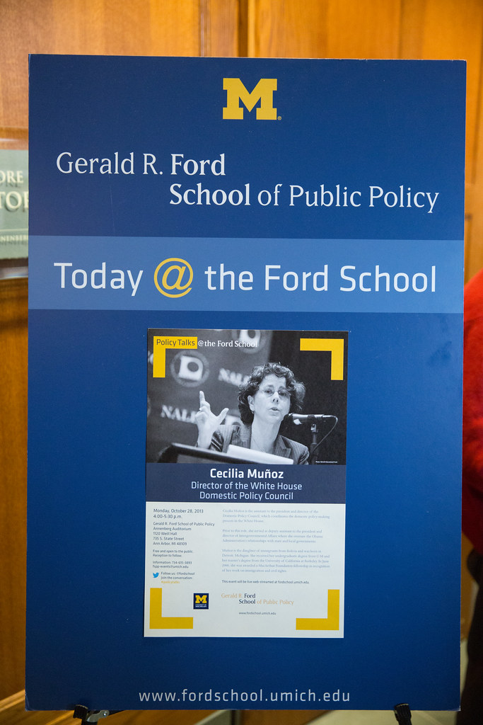 2013 Policy Talks The Ford School Lecture By Cecilia Mun