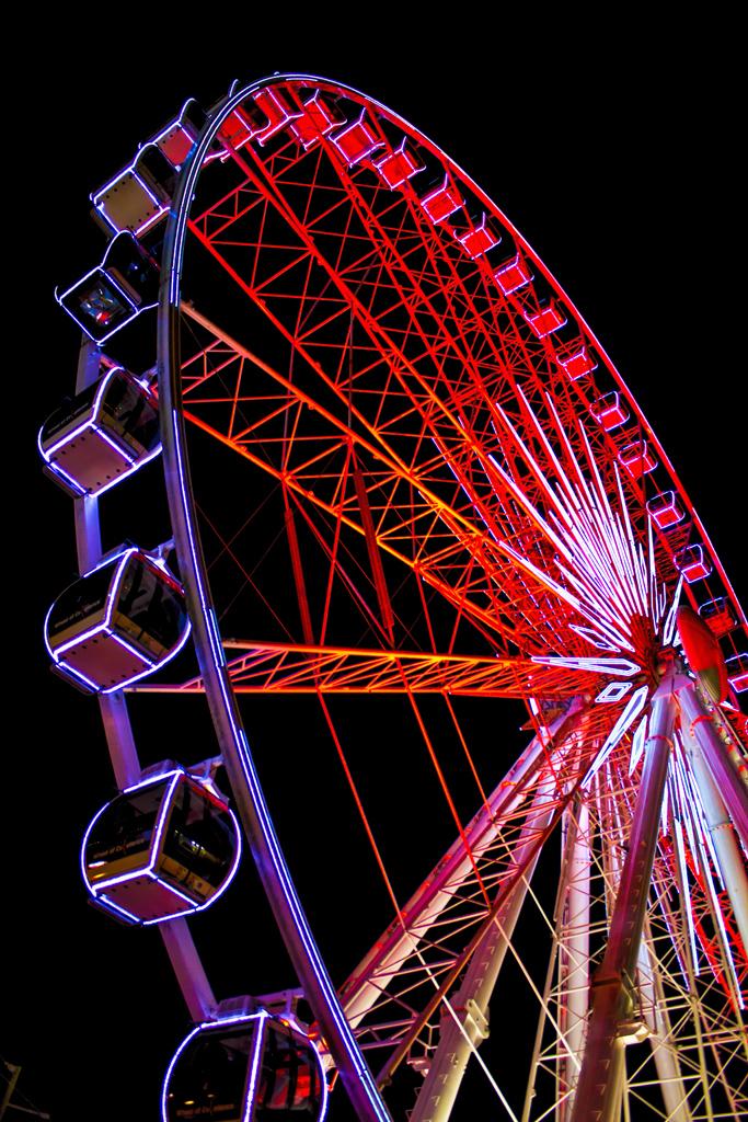 Skyview Atlanta   The Skyview ferris wheel in Atlanta, GA ...