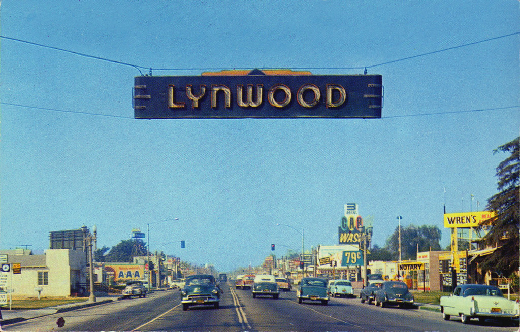 long beach blvd lynwood california 1950's | Flickr - Photo Sharing!