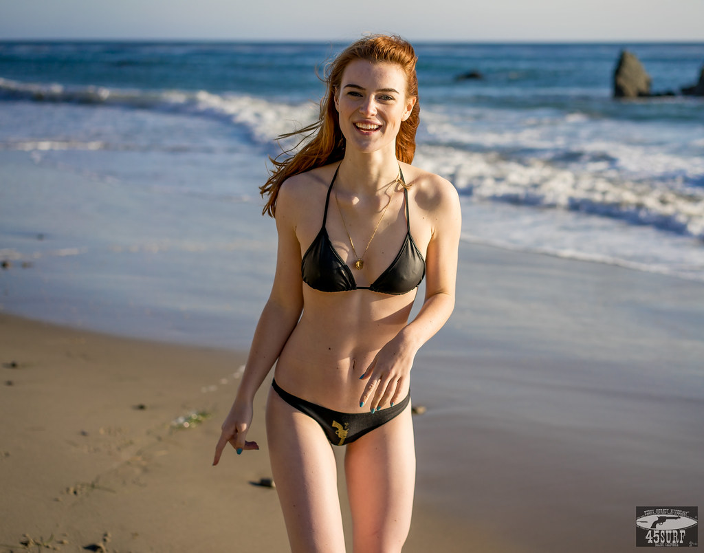 Red Head Bikini