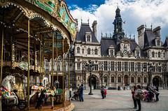 Hôtel de ville de Paris (II) Carrousel