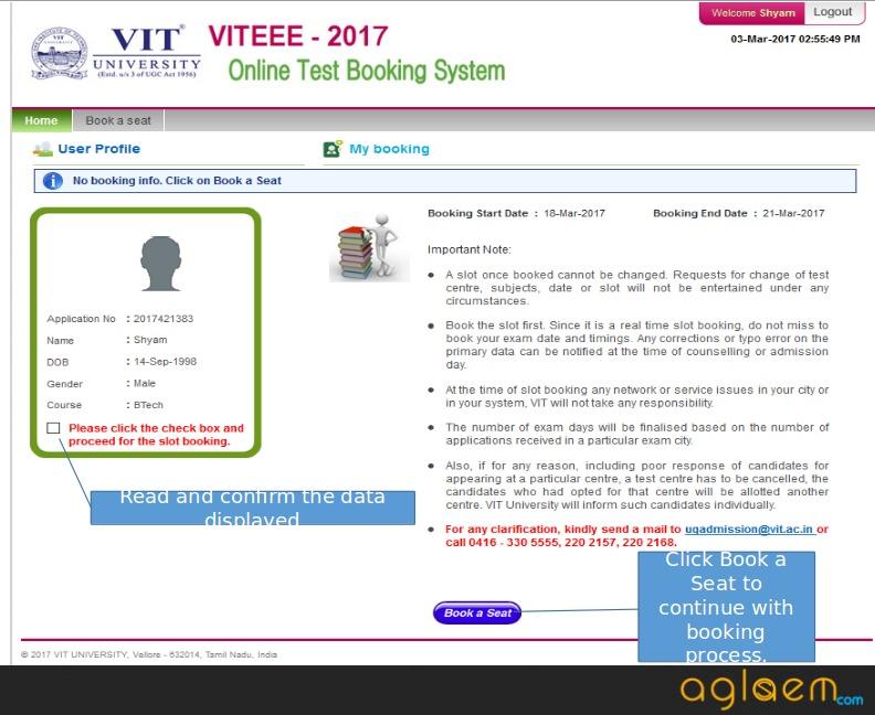 Viteee online slot booking 2017 online banks with no minimum deposit