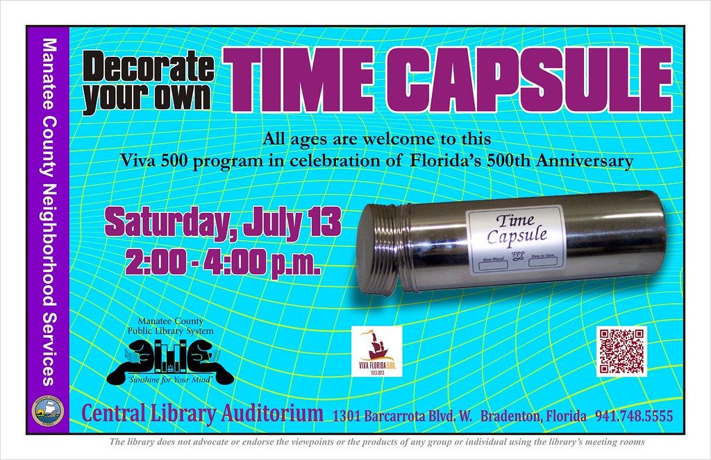 decorate your own time capsule central library the