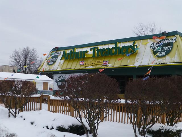 Arthur Treacher Fast Food