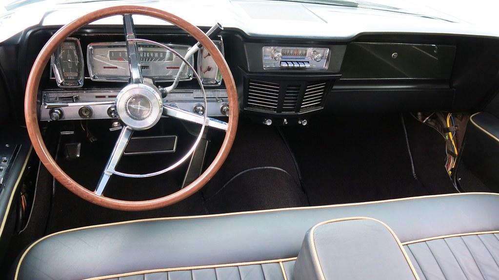 1963 Lincoln Continental Convertible Interior Custom Cab Flickr