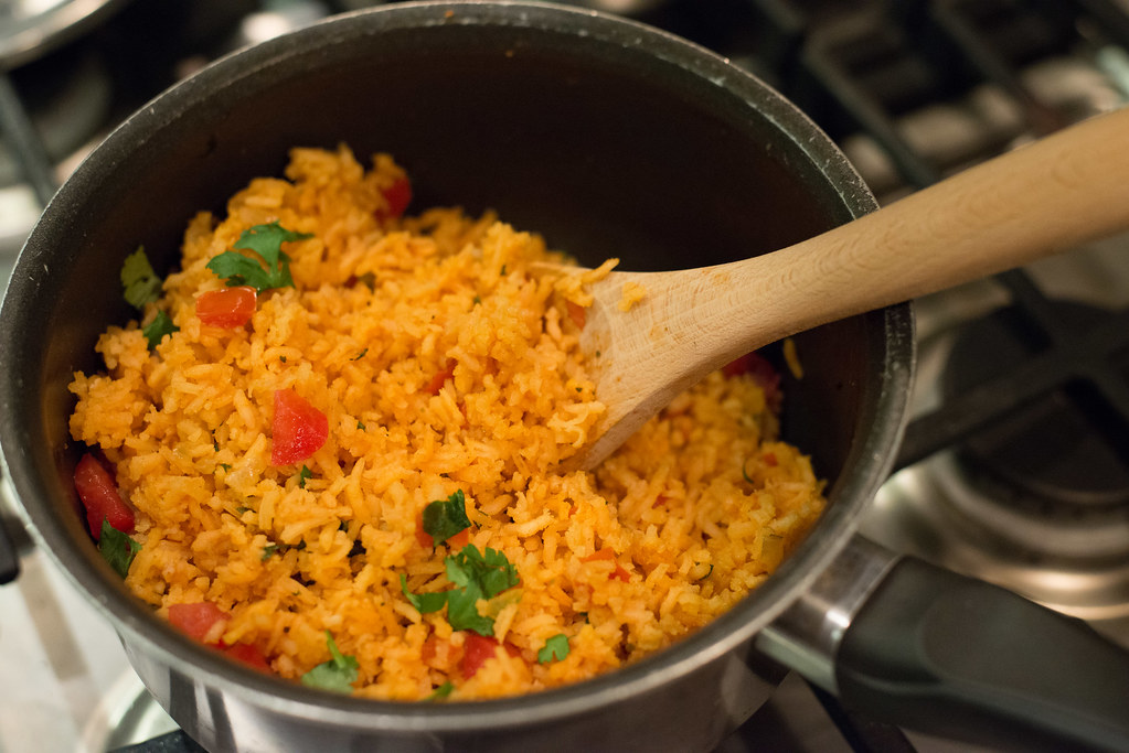 Rice Mexican Food