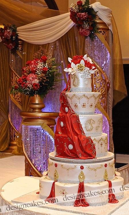 Traditional English Wedding Cake
