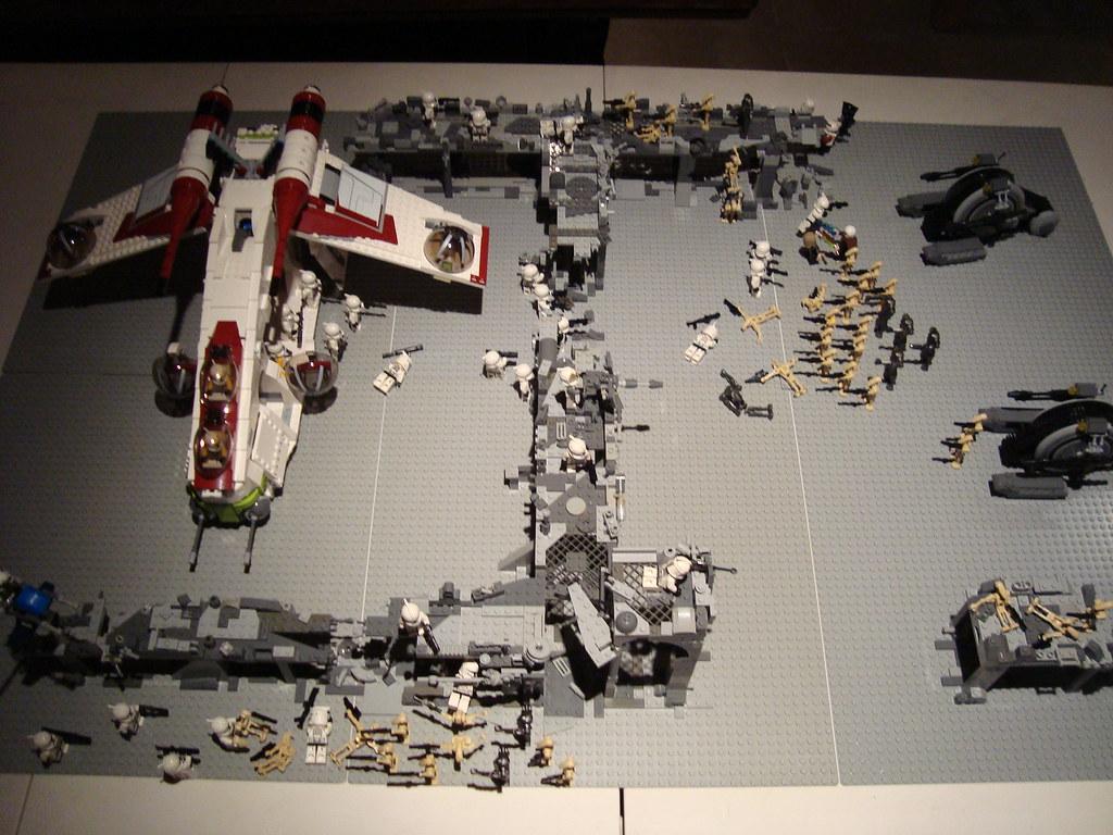 Clone Wars Battle Wallpaper Lego Clone Wars Battle in