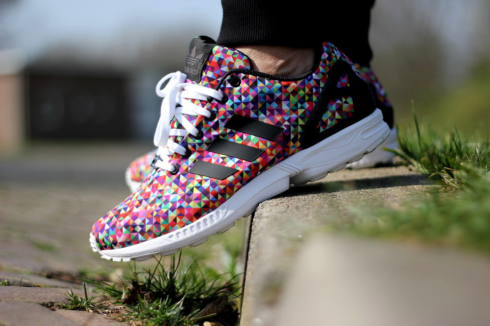 adidas originals zx flux multicolor