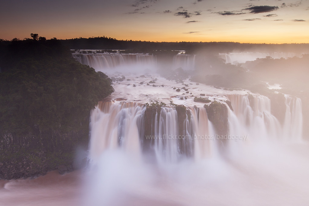 iguazu falls sunset - photo #31