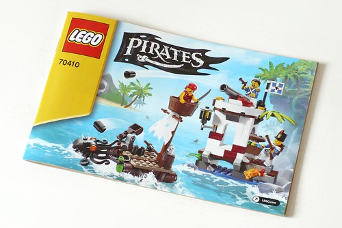 LEGO Pirates 70410 Soldiers Outpost ins01