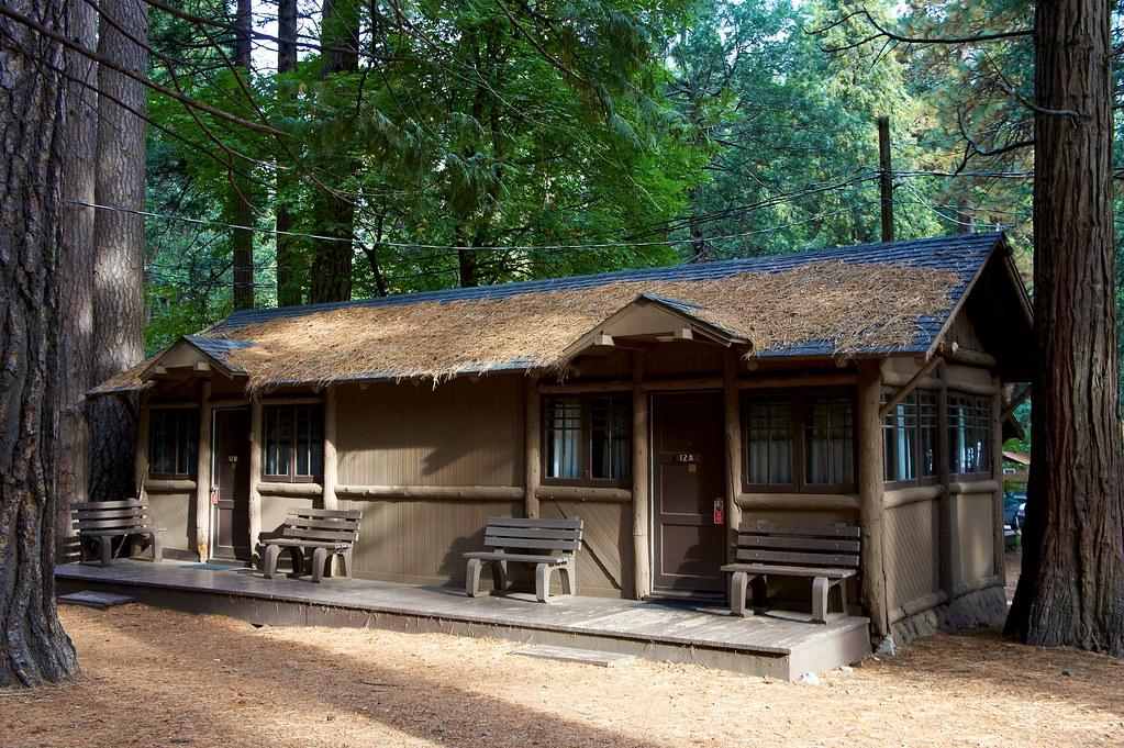 Dsc00472 Curry Village Cabin Cabins With Bath Cabins