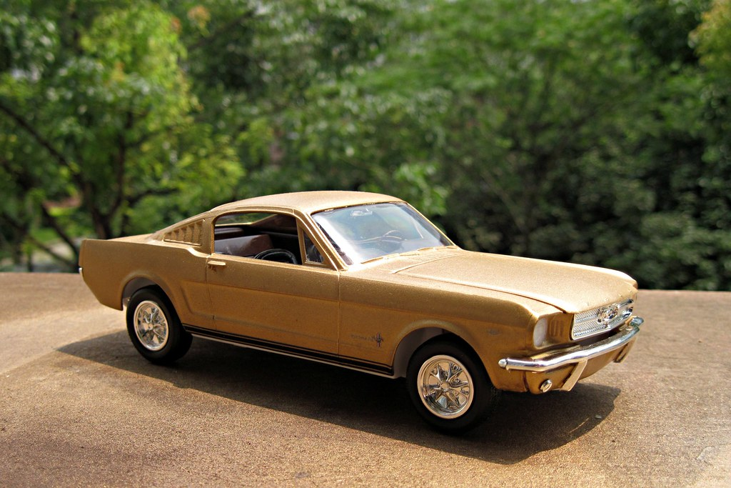 65 Ford Mustang Fastback Model Kit By Revell