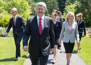 Welcoming the new members of the team | by PM Stephen Harper