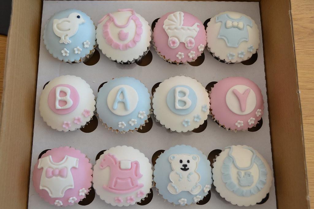 Baby Shower Cupcake Ideas Neutral : Baby Shower cupcakes Julie Elliott Flickr