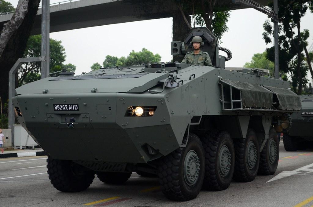 Singapore Army Terrex Infantry Carrier Vehicle Nighteye
