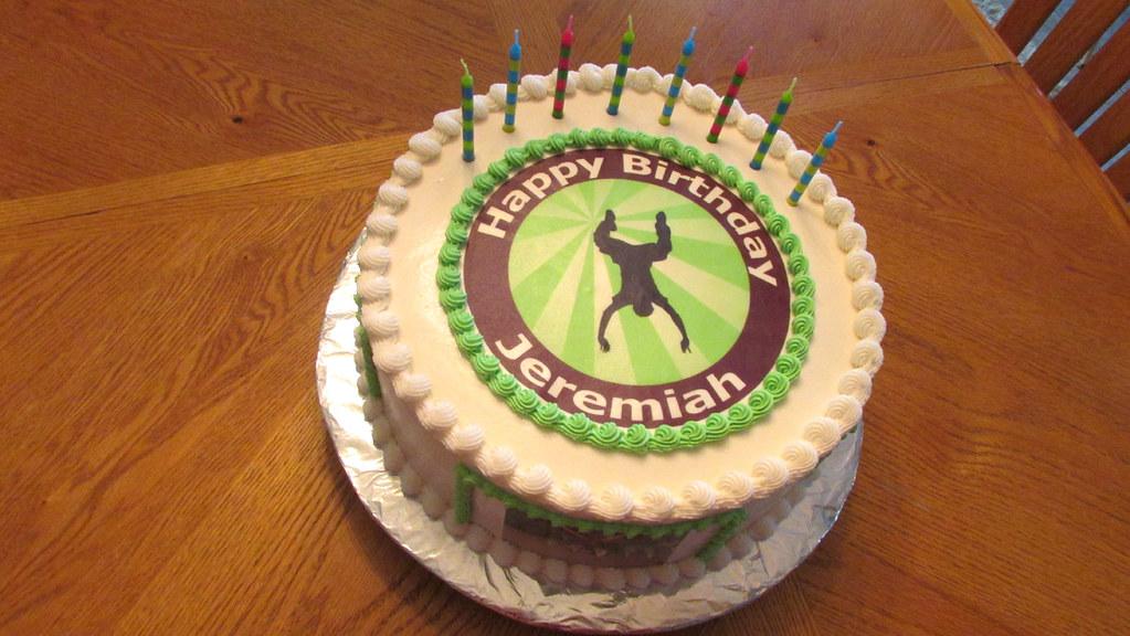 Maryland Birthday Cake