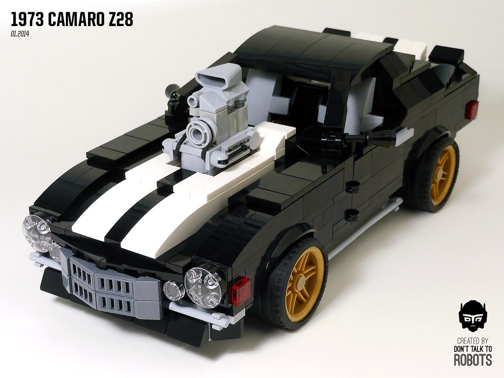 Lego 1973 Camaro Z28 Built For The Lugnuts 75th