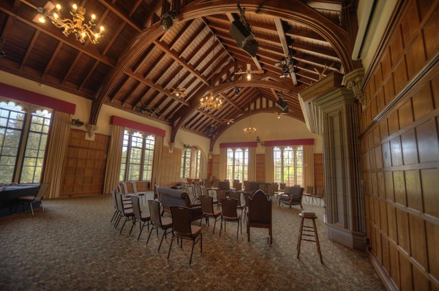 Castle Great Hall The Castle Great Hall Glen Eyrie S