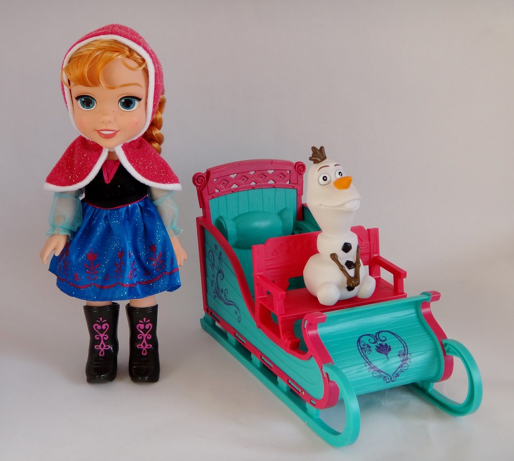 Anna S Frozen Adventure Sleigh Set By Tollytots First