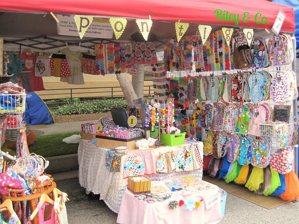 Exhibition Booth Set Up : Palos verdes street fair rileyandco craft show set