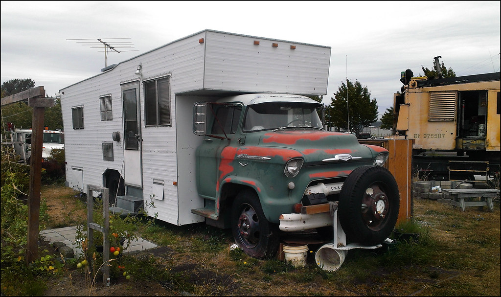 Chevrolet 5700 Camper | An RV from the '60s! Just two days ...