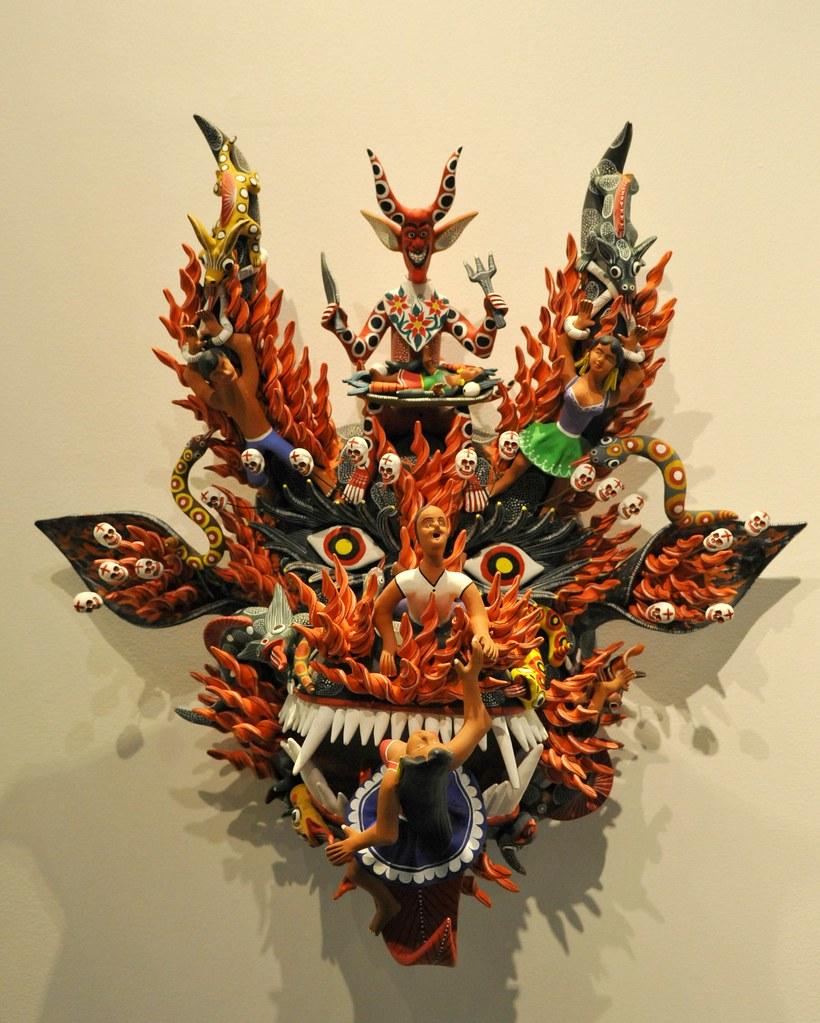 The Devil S Music De Maskers: Devil Mask Michoacan Mexico